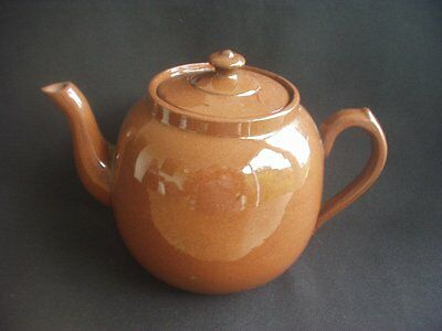 Dark Brown Teapot -Traditional Styling -Shabby Chic / Country Kitchen