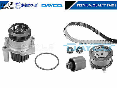 For Ford Vw Seat 1.9 Tdi 130 Asz 02-06 Dayco Timing Cam Belt Meyle Water Pump