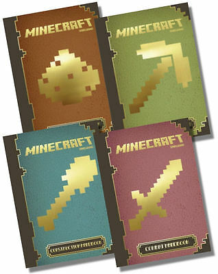 Minecraft Complete UPDATED EDITIONS Handbook Collection - 4 books, RRP £31.96