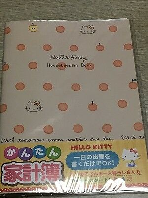 Sanrio kawaii Hello Kitty 2017 Household Account Book Japan Anime Characters 1 !