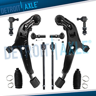 Brand New 10pc Complete Front Suspension Kit for Infiniti I30 & Nissan Maxima