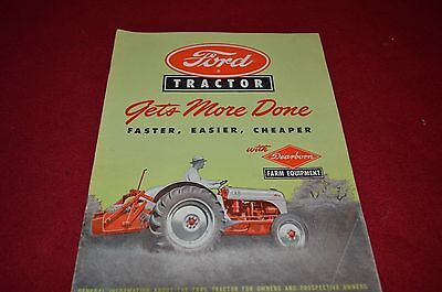 Ford Tractor Buyers Guide For 1987 Dealer Brochure DCPA10