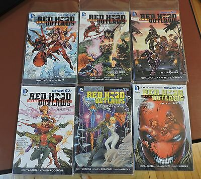 Red Hood and the Outlaws New 52 tpb Vol 1 2 3 4 5 6