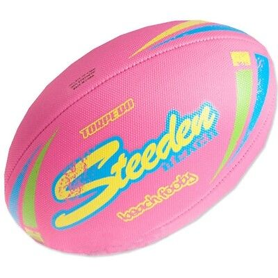 Steeden Torpedo Beach Rugby Football [pink] + Free Aus Delivery