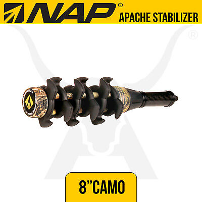 NAP Apache 8 Inch Camo Stabilizer - New Archery Products - Bow Hunting Archery
