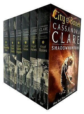 Cassandra Clare The Mortal Instruments Book 1-6 Collection 6 Books Set Brand NEW