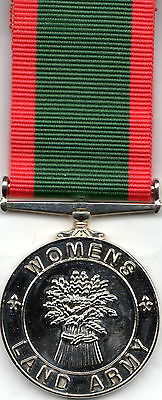 Women's Land Army Full Size Commemorative Medal
