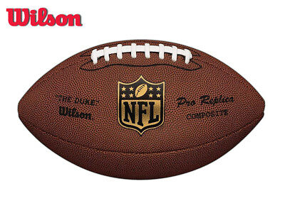 *brand New* Wilson Nfl Duke - Replica American Football - Official Size - Tan