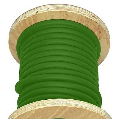 50' 4/0 AWG Welding Cable Green Flexible Outdoor Wire