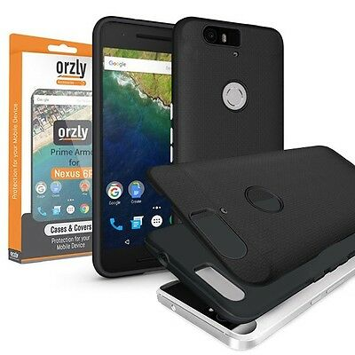 Orzly® Prime Armour Case for Nexus 6P - Black