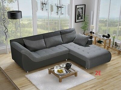 CORNER SOFA BED LINEE in stock , STORAGE PLACE , MODERN