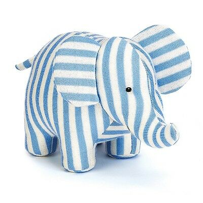 """Jellycat 9"""" ELLIOTT ELEPHANT CHIME Baby Plush Toy - Brand NEW with Tags"""
