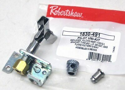 1830-491 Robertshaw Commercial Gas Oven Pilot for 51-1467 Vulcan 112212-1 Bkt#10