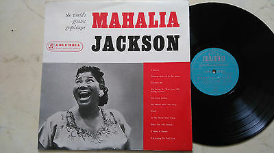 MAHALIA JACKSON The World´s Greatest Gospelsinger *COLUMBIA 1st PRESS*