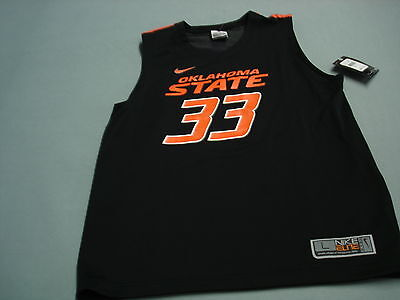 Nike OSU Oklahoma State Cowboys Basketball JERSEY youth Large  NEW