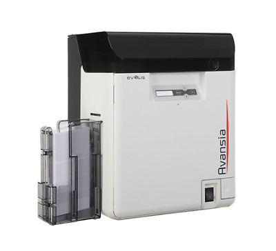 Evolis Badgy200 Card Printing Solution - Inlcudes 100 cards, Ribbons & Software