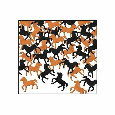 Western Horses Table Confetti - 28g - Wild West & Cowboy Horse Party Decorations
