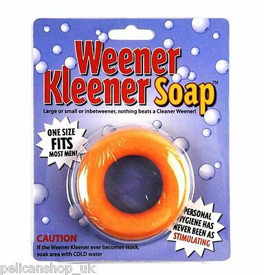 Weener Kleener - Novelty Soap Joke Gift - Secret Santa Men Soap Cleaner