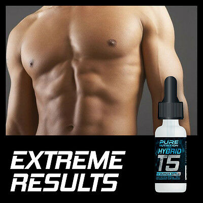 Pure Nutrition T5 Hybrid Fat Burner Serum – Extreme Results Fat Burners