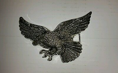 ROCK REBEL FLYING EAGLE BELT BUCKLE FROM HOT TOPIC