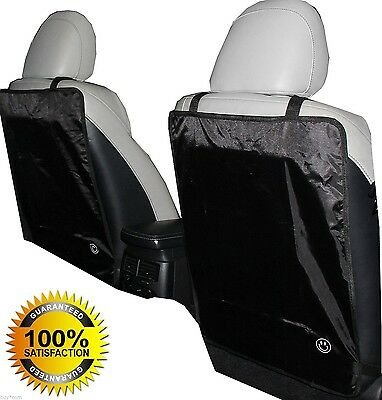 Luxury Kick Mat - for Car Seat Back Protectors 2 Pack Keep Your Seats 100% Clean