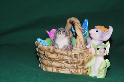 "The Whimsical World Of Pocket Dragons ""gardening Basket"" Real Musgrave"