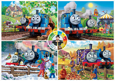 05378 Ravensburger Thomas 4 Seasons Giant Floor Puzzle 24Pc [Children's Jigsaw]