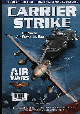 Carrier Strike - US Naval Air Power at Sea - (SAM Publications) - New Copy
