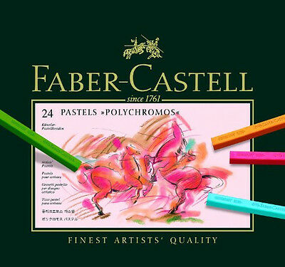 Faber-Castell Set of 24 Polychromos Artists Pastels