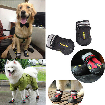Waterproof Pet Shoes Anti Skid Dog Boots For Medium/Large Labrador Husky Shoes