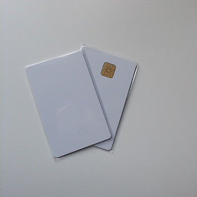 20PCS CSF Inkjet PVC Card with SLE4428 Chip Contact Smart Card Contact IC Card