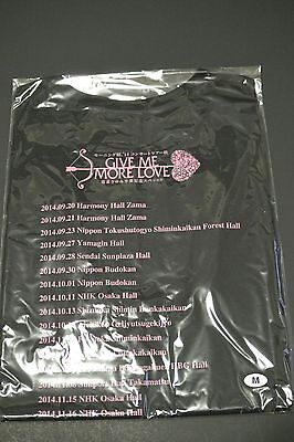 Morning Musume Michishige Sayumi Graduation Tour T-shirt. Bonus Photo. Brand New