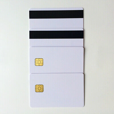 20 PVC HiCo Mag Strip Card with 4428 Chip+30 White Blank Inkjet Photo Id Card