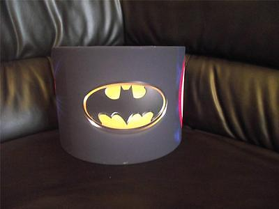 "Superhero Logo 10"" Drum Ceiling Lampshade Lightshade"