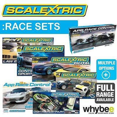 New! Scalextric 1/32 Race Sets Full Range To Choose - Digital Race F1 Rally Bond
