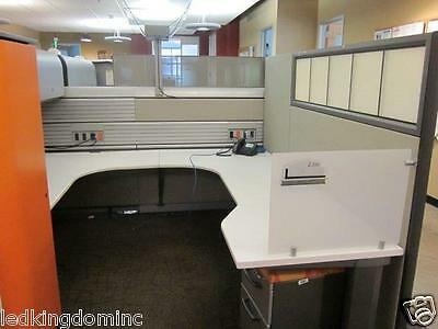 Gently Used Office Cubicles 4 sections from GOOGLE