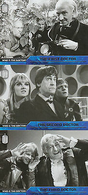Topps 2015 Doctor Who - Who Is The Doctor? Chase Trading Card Set