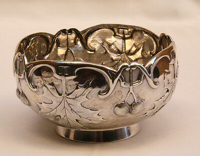 Magnificent 1900 French Sterling Silver Bowl