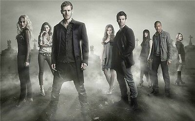 """The Vampire Diaries -Sexy Girl Blood Hot TV Show Series 21x13"""" Poster 042"""