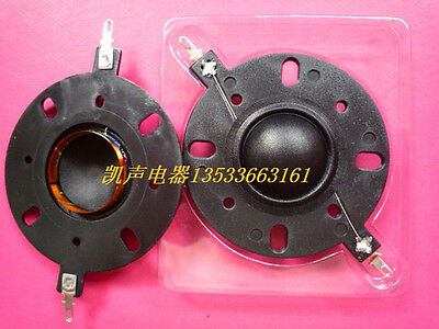 """1 pair 25.5mm (1"""") silk diaphragm dome Tweeters horn Drive voice coil  #Z201 ZY"""