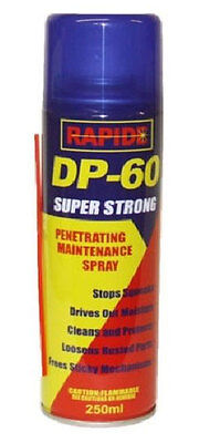 DP-60 Penetrating Maintenance Spray drives out moisture, rusty parts WD40 250ml