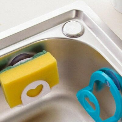 Cute Sponge Holder Suction Cup Convenient Home Kitchen Holder Tools Gadget Decor
