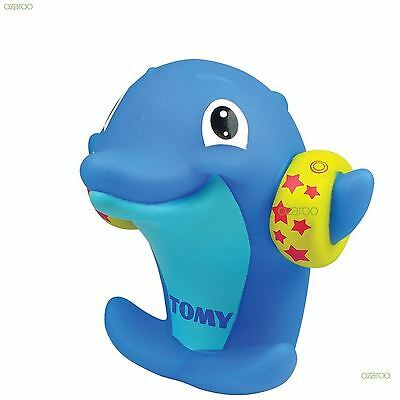 Tomy Water Whistler Floating Dolphin Bathtime Water Squirter Toy, 18 Months +