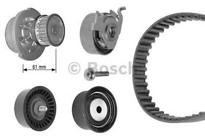 Bosch Water Pump & Timing Belt Kit 1987948739