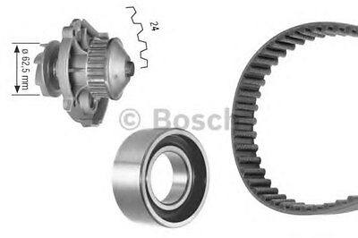 Bosch Water Pump & Timing Belt Kit 1987948799
