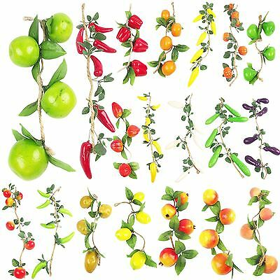 Artificial Fruit Garlands