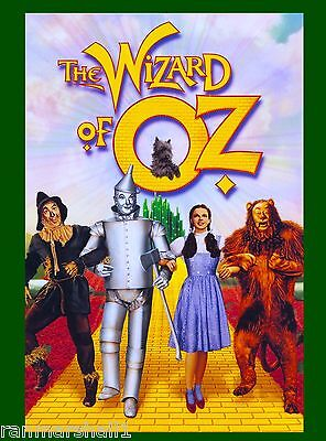 The Wizard of Oz Kansas Emerald City Dorothy Toto Witch Advertisement Poster