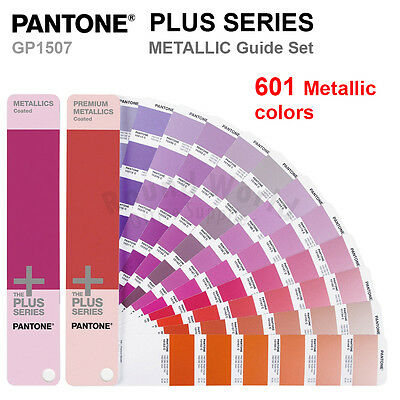 Pantone Plus Series GP1507 METALLIC (Coated) Color Formula Guide Set 601 Colors