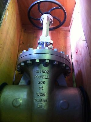 "Industrial Valve 14"" #300 Lb. Buttweld Carbon Steel Gate Valve"