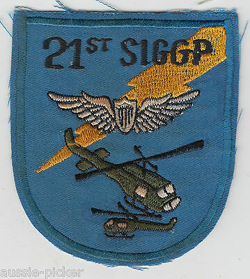 US Army 21st Signal Group Aviation Patch